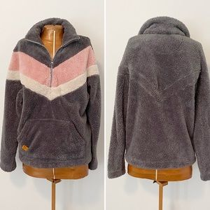 Simply Southern Striped Fleece Pullover